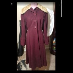 Vintage E.M. Scarborough & Sons Coat- Small